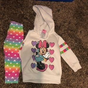 Toddler Minnie Mouse Set